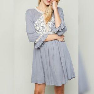😱LAST CHANCE!😱 NWT~ Boutique Lace Front Dress